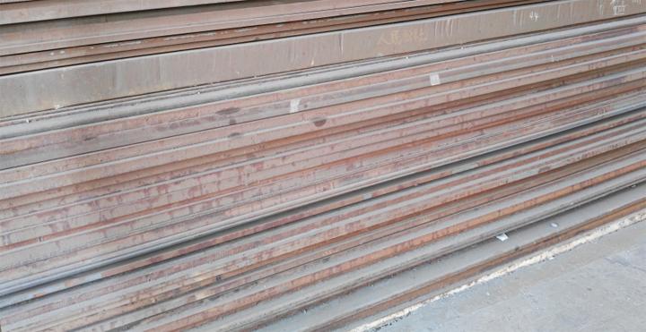 舞钢合金结构钢板 40Cr实物